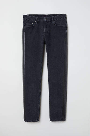 H&M - Jeans with Side Stripes - Black