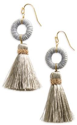 Women's Panacea Tassel Earrings $24 thestylecure.com