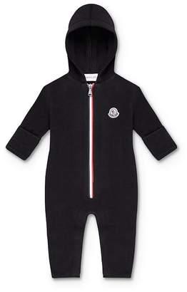 Moncler Unisex Logo Zip-Up Jumpsuit - Baby