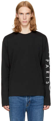 Kenzo Black Long Sleeve Logo T-Shirt