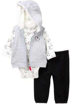 Little Me Dalmation Vest Set (Baby Boys)