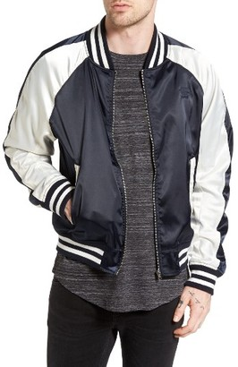 Men's G-Star Raw Batt Tour Souvenir Bomber Jacket $230 thestylecure.com