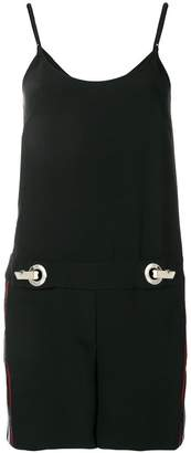 Versace sleeveless shift playsuit