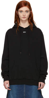 Off-White Off White Black Tape Hoodie