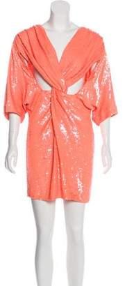 Ashish Sequined Mini Dress