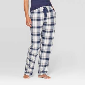 Stars Above Women's Plaid Perfectly Cozy Flannel Pajama Pants - Stars Above Navy