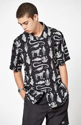 Obey Dante Short Sleeve Button Up Shirt