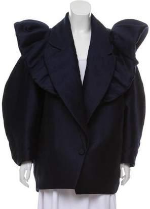 Viktor & Rolf Wool Ruffle Jacket