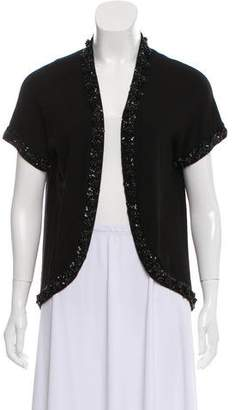 DKNY Embellished Knit Cardigan