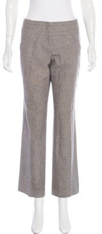 Christian Dior Wool & Angora-Blend Pants