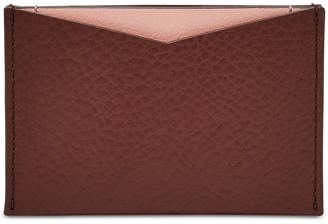 Fossil Colorblocked Card Case