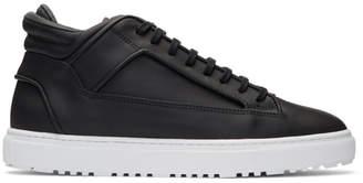 Etq Amsterdam Black Mid 2 Sneakers