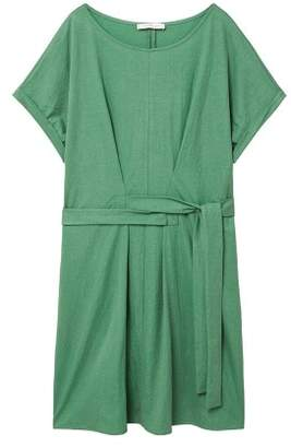 Violeta BY MANGO Flowy bow dress
