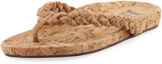 Schutz Lisbon Braided Thong Sandal