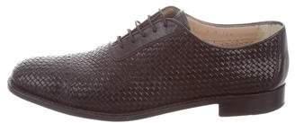 Gravati Woven Leather Oxfords
