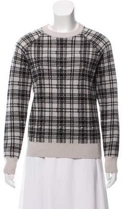 Haute Hippie Merino Wool Crew Neck Sweater