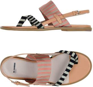 Jil Sander Navy Toe strap sandals
