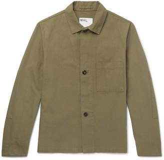 Mhl Cotton-Canvas Jacket