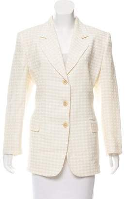 Missoni Notch-Lapel Button-Up Blazer