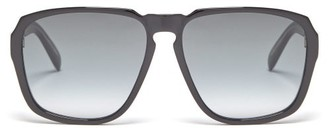Givenchy Aviator Acetate Sunglasses - Mens - Black