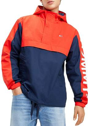 6f69dd4a Tommy Jeans Graphic Color-Block Pullover Jacket