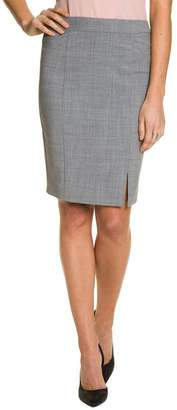 Le Château Women's Wool Blend Pencil Skirt