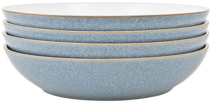 Buy Elements 4-piece Pasta Bowl Set - Blue!