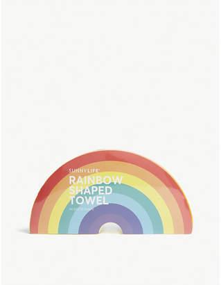 Sunnylife Rainbow shaped cotton towel