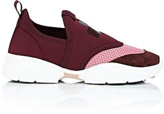 Isabel Marant WOMEN'S KAISEE SNEAKERS - BURGUNDY SIZE 11