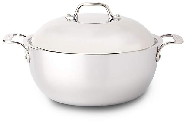 All-Clad Stainless Steel 5.5 Quart Dutch Oven with Lid