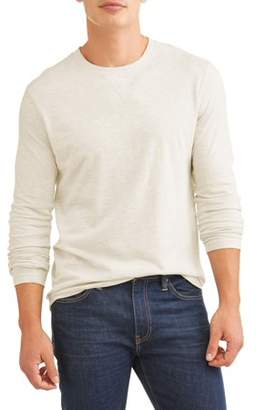 Lee Men's Long Sleeve Super Soft Crew Neck, Available up to size 2XL