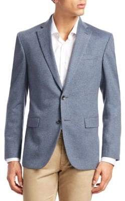 Saks Fifth Avenue COLLECTION Button-Front Cashmere Blazer