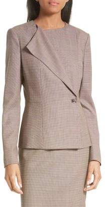 Women's Boss Jelanisa Tweed Suit Jacket $575 thestylecure.com