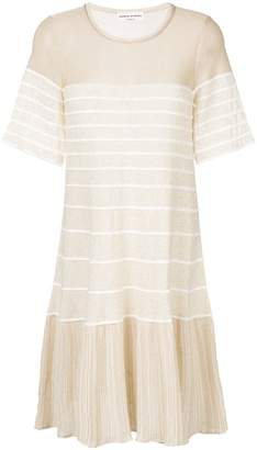 Sonia Rykiel Pleated voile maxi dress