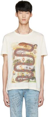 Gucci Off-White Snake Road T-Shirt $590 thestylecure.com