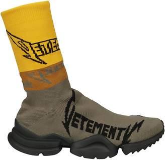 Vetements Metal Sock Hi-top Boots