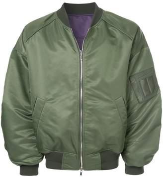 Juun.J oversized bomber jacket