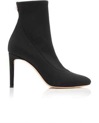 Giuseppe Zanotti Bimba Stretch-Knit Ankle Boots