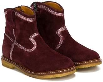 Pom D'Api glitter detail boots
