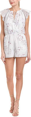 The Jetset Diaries Floral Romper