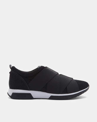 Ted Baker QUEANEB Elastic strap detail trainers