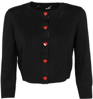 Love Moschino Cropped Cardigan