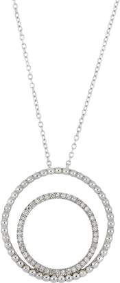 Carriere JEWELRY Double Circle Pendant Necklace