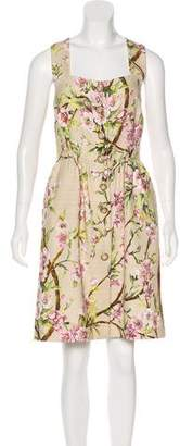 Dolce & Gabbana Printed Sleeveless Dress