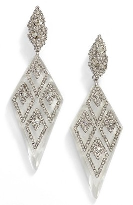 Women's Alexis Bittar Spike Clip-On Drop Earrings $375 thestylecure.com