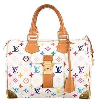 Louis Vuitton Multicolore Speedy 30 $1,025 thestylecure.com