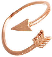 Lord & Taylor Rose Goldtone Arrow Ring $40 thestylecure.com