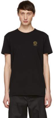 Versace Underwear Black Medusa Logo T-Shirt