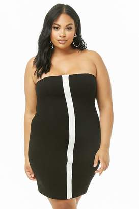 081f11f9a75 Forever 21 Plus Size Zip-Front Bodycon Dress