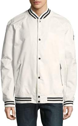 Karl Lagerfeld Men's Raglan Bomber Jacket